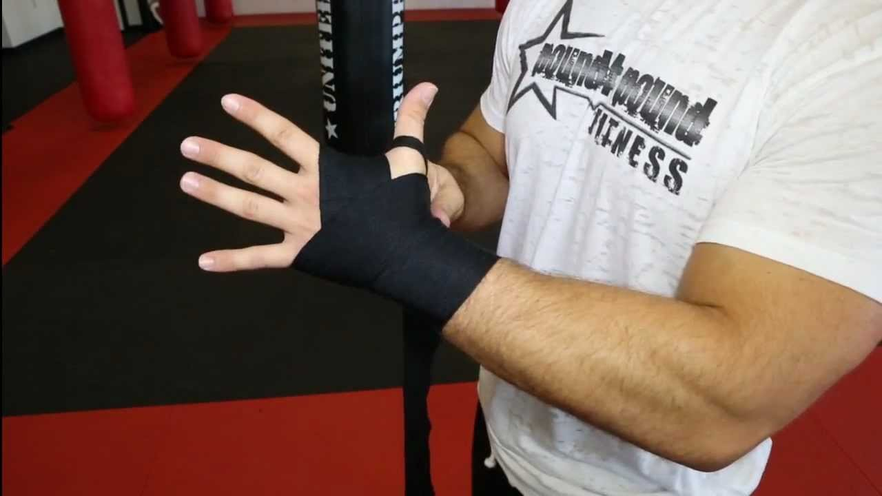 Hand Wrapping Instructions - How to wrap your hands for boxing and kickboxing