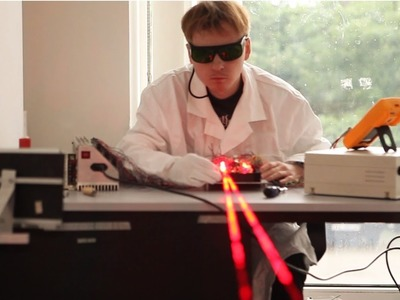 How lasers are made