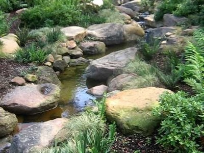 How to build a stream to look natural