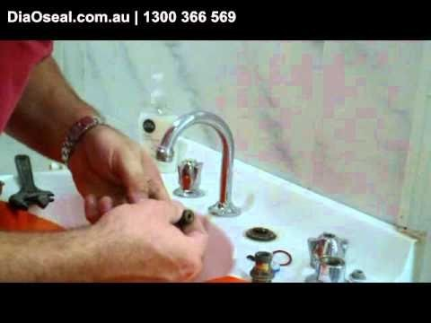 How to change or a tap washer to stop dripping tap or replace the type of washer