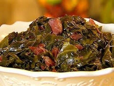 HOW to cook COLLARD GREENS W. SMOKED TURKEY ~ jjackeeeeee