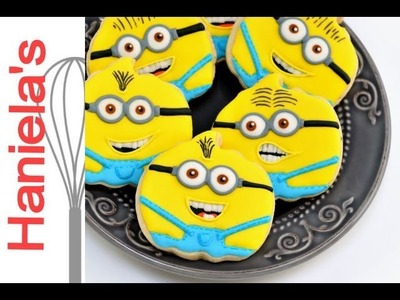 How To Decorate Despicable Me Minions Cookies