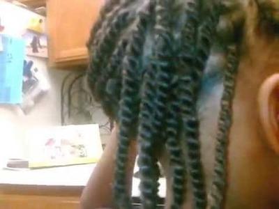 How To Do Nubian Twist.kinky twist