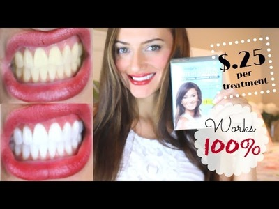 How to get 100% SUPER WHITE TEETH! | Delaney