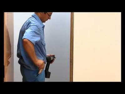 How to install a door. Is very easy.