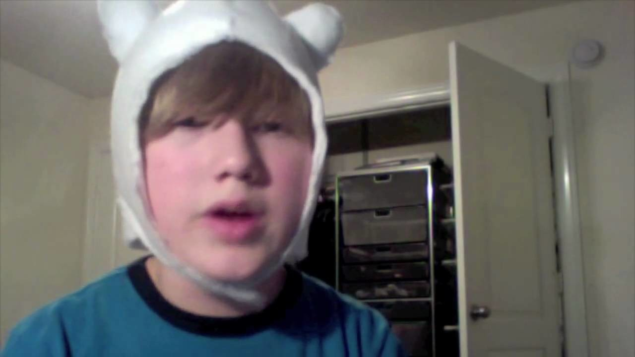 How to make a Adventure Time Finn Hat