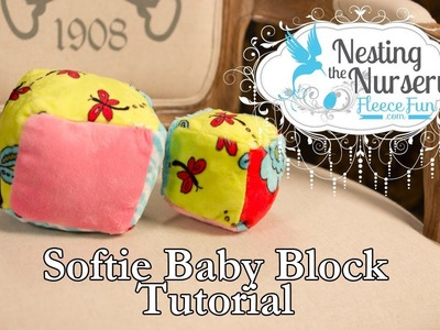 How to make a Baby Block or Softie block
