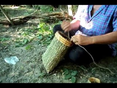 How to Make a Bark Container