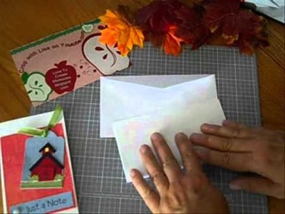 How to Make a Card at Home - for Small Business Envelopes