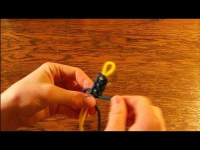 How To Make a Cobra Weave Paracord Bracelet (No buckle)
