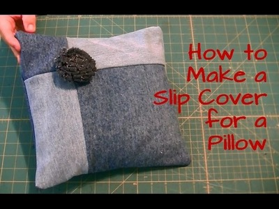 How to Make a Envelope Pillow Cover