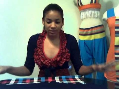 How to make a high wasited skirt
