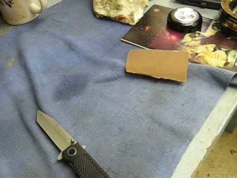 How to make a knife really sharp Part 2