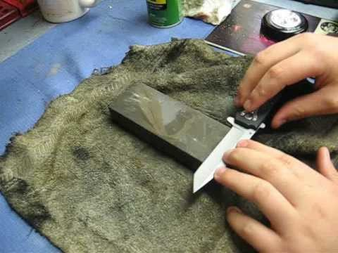 How to make a knife really sharp Part 1