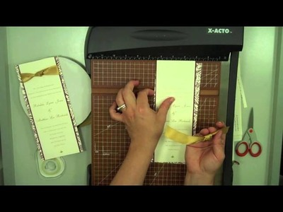 How to Make a Layered Invitation