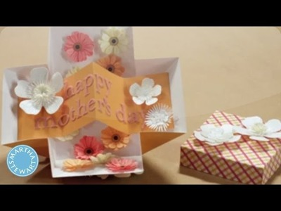How to Make a Mother's Day Pop-Up Card - Martha Stewart