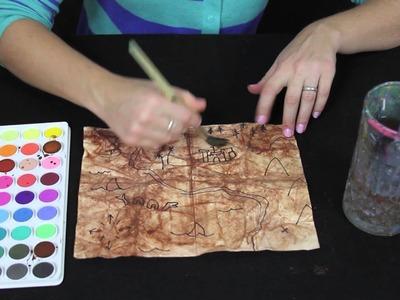 How to make a treasure map