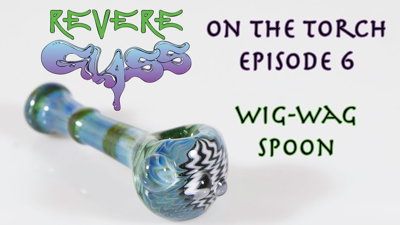 How to make a Wig Wag Pipe    REVERE GLASS   