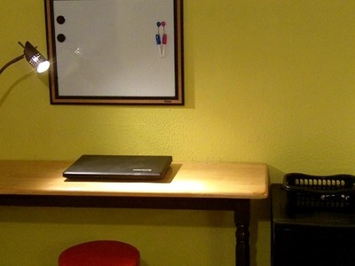 How to Make an Incredible Almost Free Laptop Desk