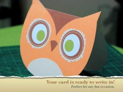 How to make an Owl Card by govango