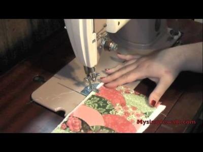 How to make. sew a Mug Rug!