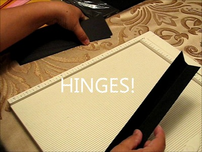 How to make the pages of a mini album