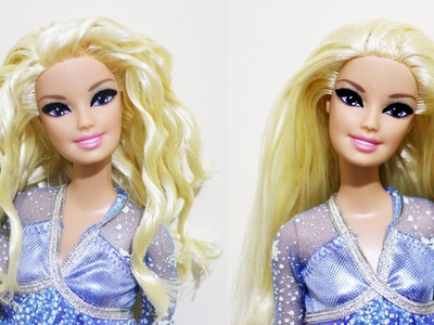 How to temporarily curl your doll's hair- Doll Crafts