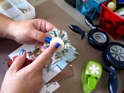 Ideas on How To Use Up Your Scraps Right Away #2 ~ Punches