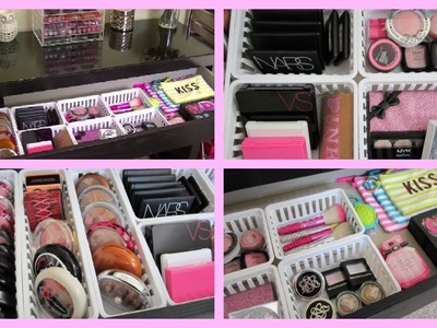 Inexpensive Makeup Storage Ideas Malm Dressing Table