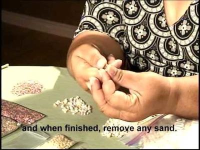 Making a Ni`ihau Shell Lei - Part 1