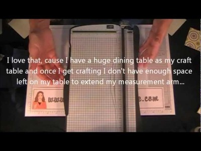 NEW Stampin' Up! Paper Trimmer Product Preview.wmv