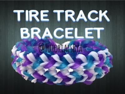 NEW Tire Track Rainbow Loom Bracelet Tutorial