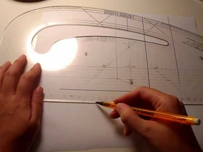 Pattern Cutting Tutorial: How To Draw Mitered. Mitred Corners Without Folding Your Pattern