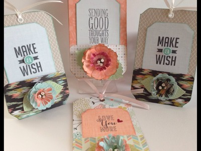 Pocket Tags & Flower Tutorial Using the Envelope Punch Board