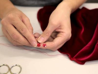 Premier School of Dance: How to sequin costumes