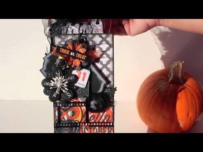 Prima & Glitz Halloween Goodie Bag Mini (Giveaway on Prima Blog)