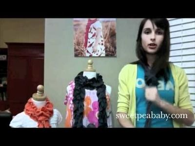 Ruffle Me Scarf by Sweet Pea Baby