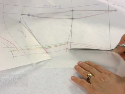 Shirt Sewing - Cutting Out the Patterns (FREE SAMPLE)