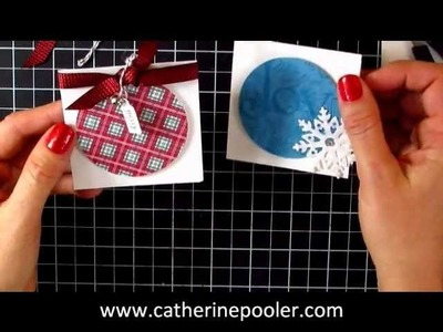 Simple Holiday Gift Tags to Make #2
