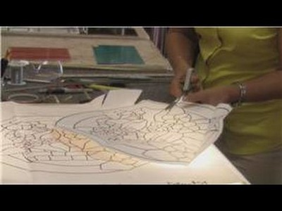 Stained Glass Art : How to Cut Patterns in Stained Glass