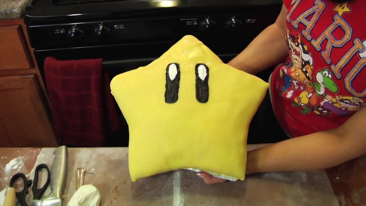 SUPER MARIO CAKE - NERDY NUMMIES