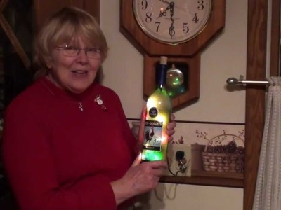 Testimonial for bottles with light by Sue