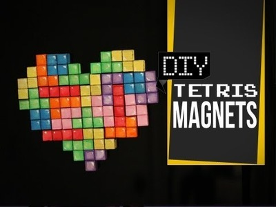 Tetris magnets - DIY GG