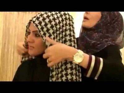 Tie Hijab with Dubai Style