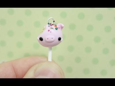 Tutorial: Pig Cake Pop Charm!
