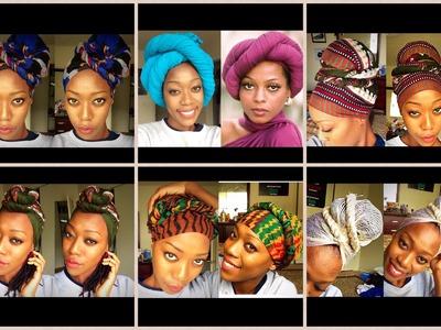 8 EASY Head wraps