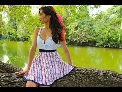 A Design by Eric Renteria : Sailor Anchor Skirt