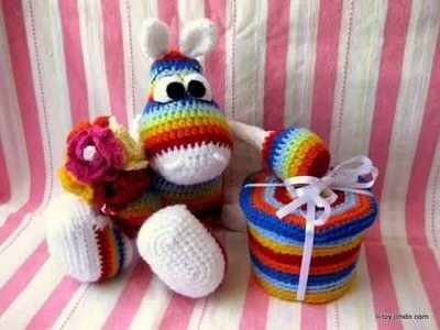 Amigurumi toys Be Lilia Shaevitch.