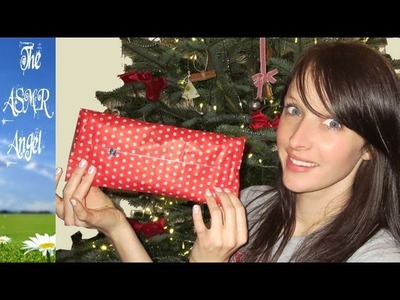 ASMR Wrapping Christmas Presents - No speaking (Binaural - 3D Sound)