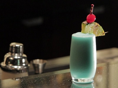 Blue Hawaiian Cocktail Recipe - How to Make a Blue Hawaiian